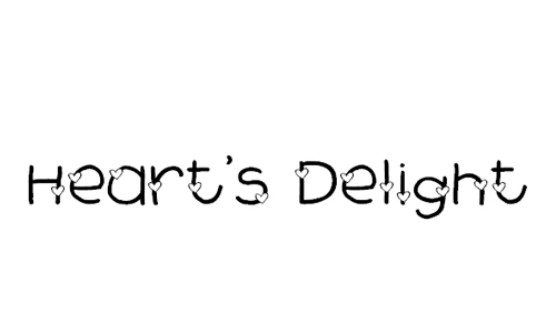 2Peas Heart's Delight Font