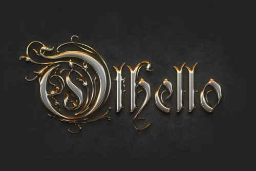 Create a Crisp Metallic Text Effect