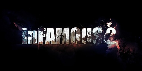 Text Effect Inspired by Infamous 2