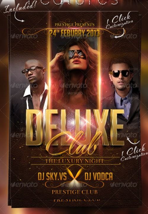 Deluxe Club Flyer Template