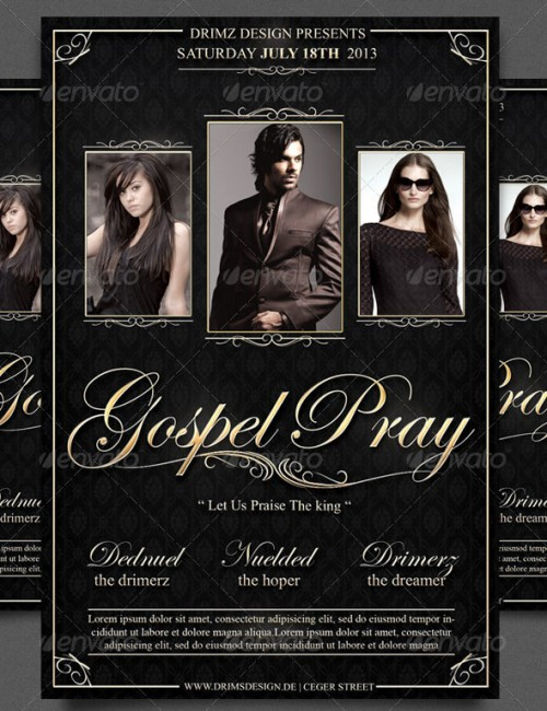 gospel concert flyer template choice image template design free gospelconcertposterdesign