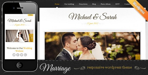 Marriage - Responsive Wedding Theme