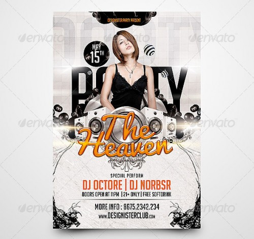 Flyer Templates Examples