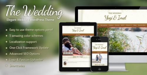 The Wedding - Elegant Wedding WP Theme