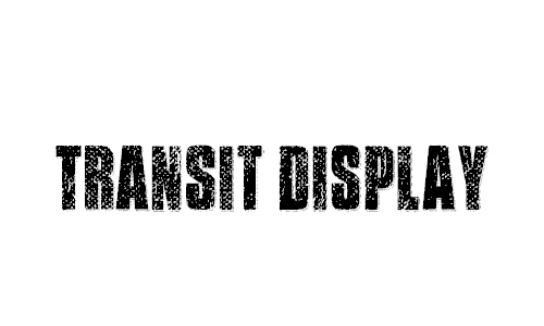 Transit Display Font
