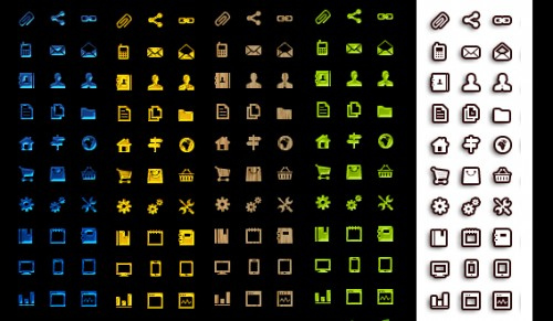 120 Mini UI Icons Set