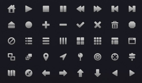 160 Essential Web Icons