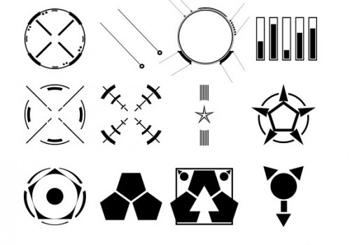 20 Shapes for Photoshop