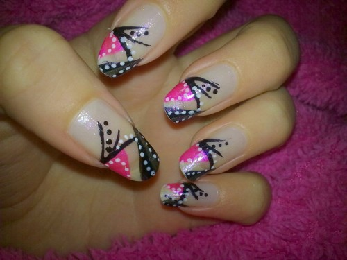 Cool Abstract Nail 2013