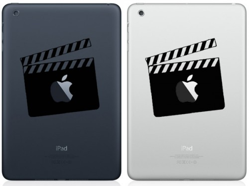 Movie Clapper Board iPad Mini Decals