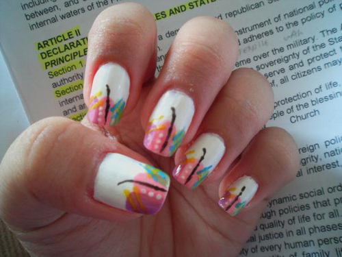 Nail Art Design, Abstract