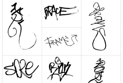 Photoshop Graffiti Shapes