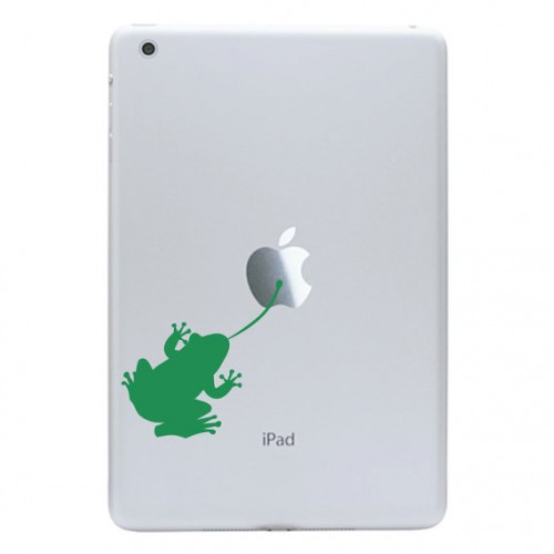 iPad Mini Decal Sticky Frog
