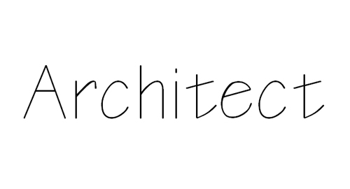 Architectural Drawing Font 25 amazing free photoshop architectural fonts - creativedive