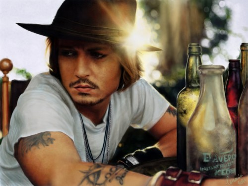 Depp's – Digital Painting