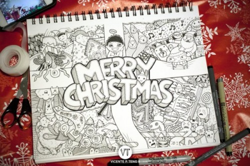 DOODLE: Merry Christmas!!!