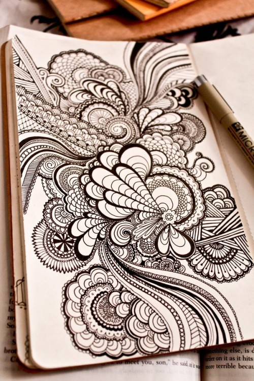 25 Eye Refreshing Doodles Designs Examples Creativedive