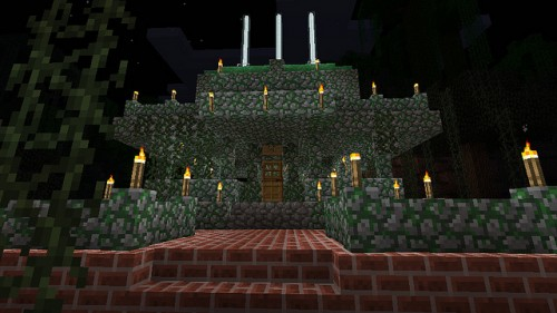 Minecraft - Jungle Castle