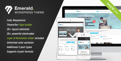 Emerald - Modern Theme for Corporate