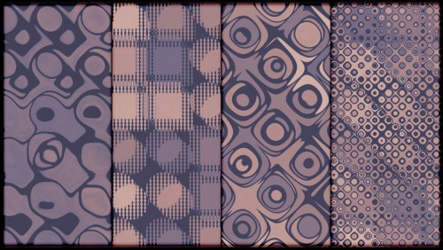 4 Faded Mauve Vintage Photoshop Patterns