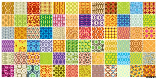 72 Free Retro Patterns