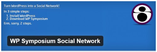 WP Symposium Social Network