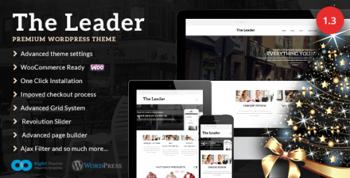 The Leader - Ecommerce Responsive Theme