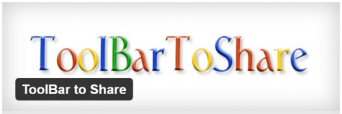 ToolBar to Share