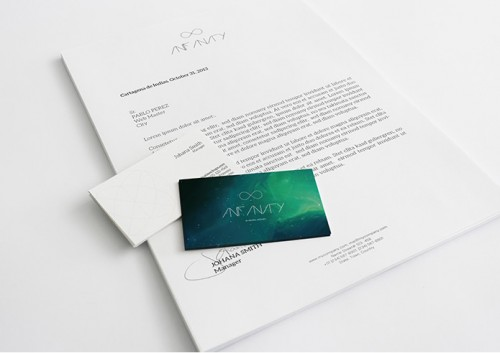 A4 Letterhead & Business Cards Mockup