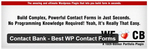 Contact Bank - Best WP Contact Forms