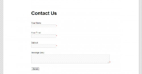 Contact Form Manager