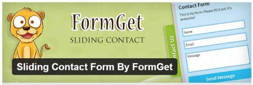 Sliding Contact Form By FormGet