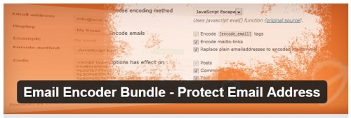 Email Encoder Bundle - Protect Email Address