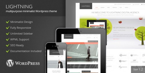 Lightning - Multipurpose Minimalist Theme
