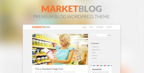 MarketBlog - Premium Blog WordPress Theme