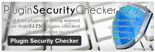 Plugin Security Checker