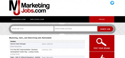 Marketing Jobs