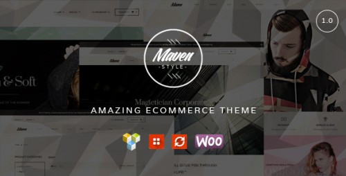 Maven WordPress WooCommerce Theme