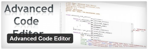 Advanced Code Editor