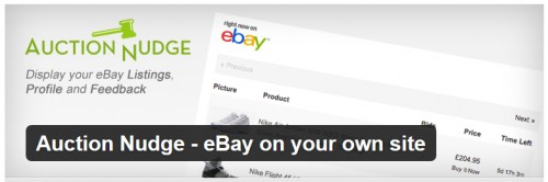 Auction Nudge - eBay on Your Own Site