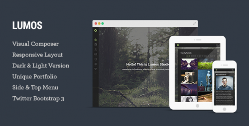 Lumos - Multipurpose Single, Multi-page WP Theme