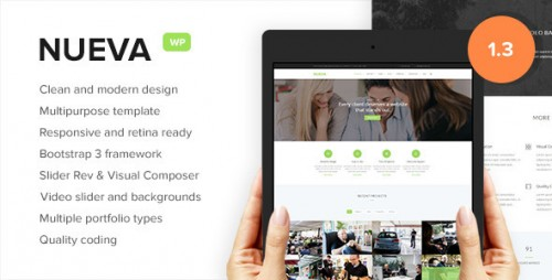 Nueva - Responsive Multi-Purpose WordPress Theme