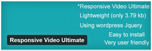 Responsive Video Ultimate