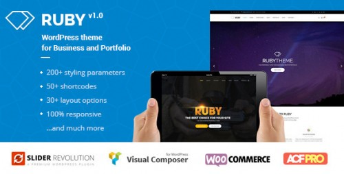 Ruby - WordPress Theme for Business and Portfolio