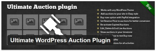 Ultimate WordPress Auction Plugin
