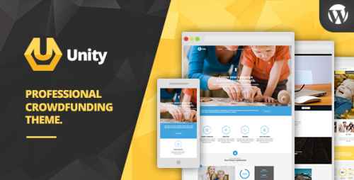 Unity - WordPress Crowdfunding Theme