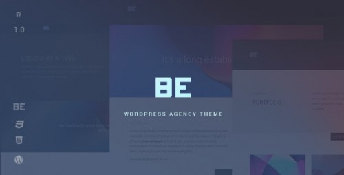 Be - Responsive Agency WordPress Theme