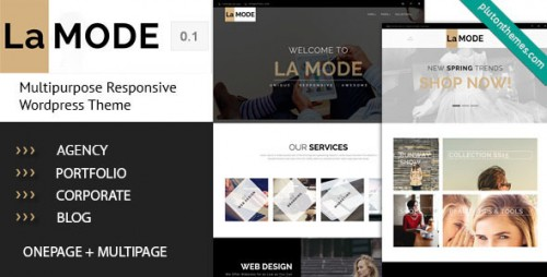 La Mode - Multipurpose WordPress Theme