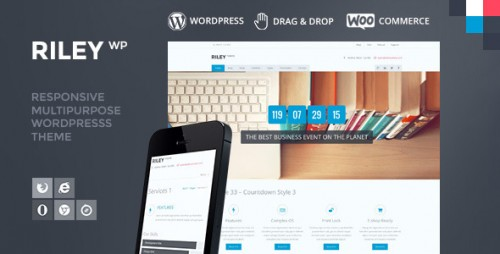 Riley - Responsive MultiPurpose WordPress Theme