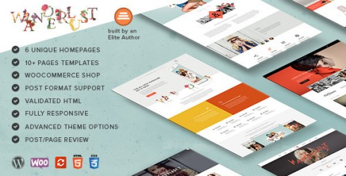Wanderlust - Multi-Purpose WordPress Shop Theme